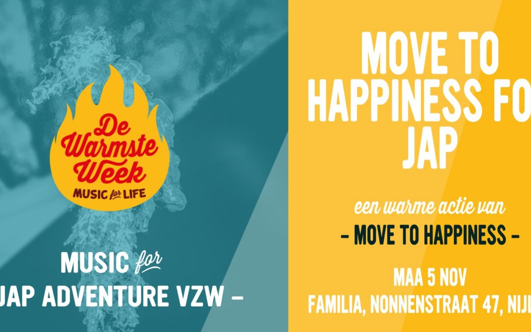 Move to Happiness zet zich in voor de warmste week