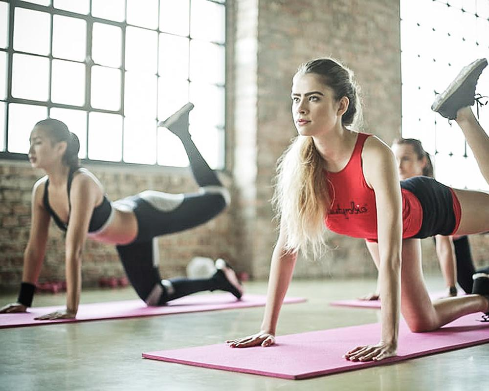 Groepsles total body workout - The Vibe